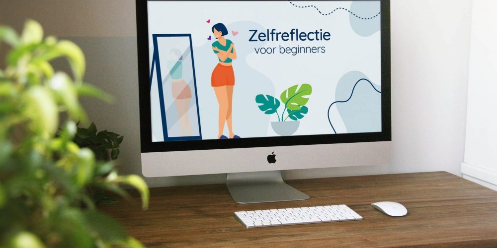 iMac_Mockup_Zelfreflectie voor beginners