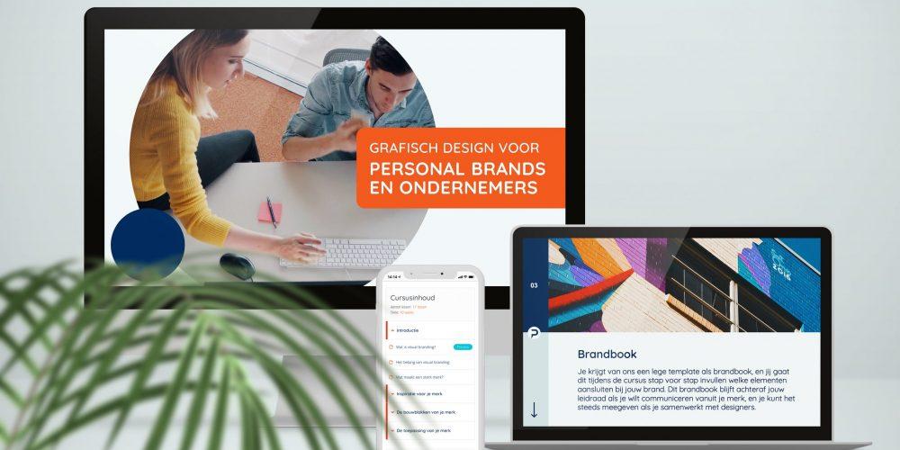 Visual Branding Cursus mock-up